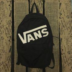 Vans Backpack Black Vans backpack, great for school. Vans Bags Backpacks