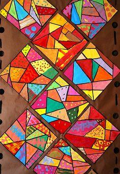 Crazy quilts- sub lesson