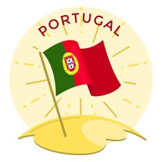 Mo Design, Layout Design, Portugal Flag, Portugal Travel Guide, Electronic Media, Architecture Photo, Layout Template, Create A Logo, Printed Materials