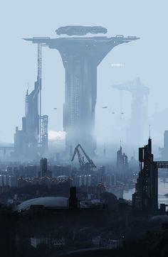 future sci fi scenery The post Hello, Chongqing! & SF Atlas [Cities & Postapocalypse] appeared first on Film Germany . Arte Cyberpunk, Cyberpunk City, Futuristic City, Futuristic Architecture, Fantasy City, Sci Fi Fantasy, Fantasy World, Arte Sci Fi, Sci Fi City