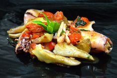 Calamari ripieni ai funghi  #ricettedisardegna #sardegna #sardinia #food #recipe #cucinasarda