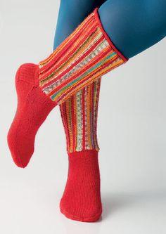 Socken mit quergestr. Schaft by Charles D. Gandy | Schachenmayr