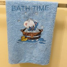 Bath Time Microfiber Towel Baby Wash Cloth, Super Absorbent! by HeartSongCreativeExp, $10.00 Personalize for New Baby Gift!