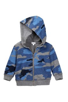 Splendid - Camo Print Hoodie (Baby Boys) is now 61% off. Free Shipping on orders over $100.