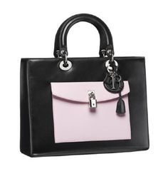 Brilliant Luxury by Emmy DE * Lady Dior 'Black Lambskin With Contrasting Pockets'