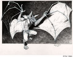Man-Bat - Arthur Adams