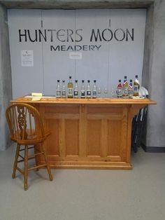 this is our little Tasting Bar at our Production Facility in Severance, Colorado :)
