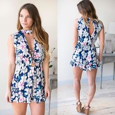 If you're going on a tropical vacation this season then this romper was made for you Shop it now under new arrivals at the link in our bio! #lotusboutique