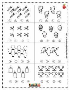 English Activities, Preschool Learning Activities, Preschool Math, Shapes Worksheets, Kids Math Worksheets, Kindergarten Centers, Math Centers, Sign Language Book, Math For Kids