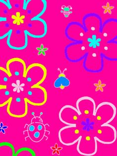 Free Abstract pink flowers.jpg phone wallpaper by twifranny