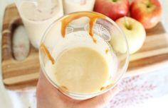 Carmel apple milkshake