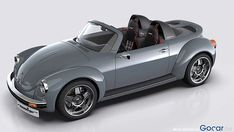 Memminger Roadster Is A Modern Take On The Classic VW Beetle. This custom VW Beetle-inspired beauty could even go into production if there's enough demand. Porsche 914, Palio Weekend Adventure, Carros Vw, Automobile, Beetle Convertible, Ferdinand Porsche, Roadster, Car Mods, Vw Cars