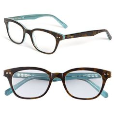 kate spade new york 'rebecca' reading glasses found on Polyvore. Oh hey glasses!