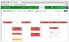 proofhub / project planning tool