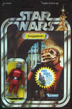 STAR WARS SNAGGLETOOTH ACTION FIGURE