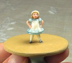 quarter scale miniature girl sculpture / okubo by CreationCottage