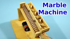 Simple Marble Machine with Archimedes Screw