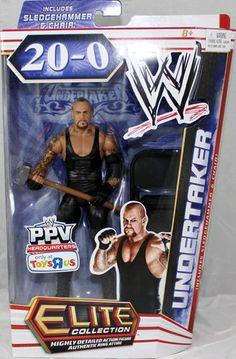 Mattel 746775076559 WWE Wrestling Elite Action Figure Undertaker for sale online Wwe Kane, Figuras Wwe, Wwe Lucha, Paul Bearer, Wwe Party, Undertaker Wwe, Theme Sport, Wwe Toys, Wwe Action Figures