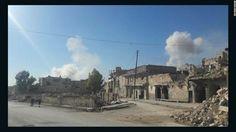 Bombs fall like 'rain' on eastern Aleppo, resident says