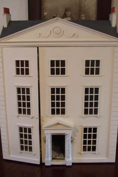 My Georgian dolls' house. One of my favourite things!