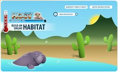 online animal habitat games and resources