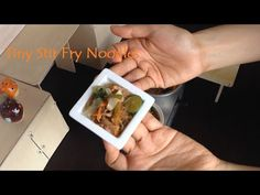Miniature Cooking: Tiny Pancit Guisado / How to make stir fry noodles (Tiny cooking mini real food) - YouTube