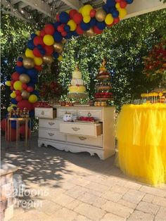 Outdoor Beauty and the Beast  | CatchMyParty.com Dessert Stand, Dessert Tables, Belle Beauty And The Beast, Birthday Parties, Photo Galleries, Bridal Shower, Holiday Decor, Party, Wedding