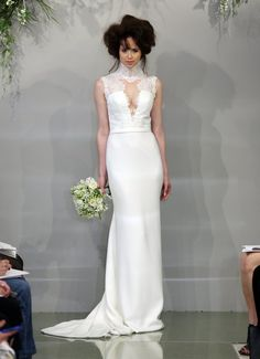 Pin for Later: 80 Must-See Wedding Dresses From Bridal Fashion Week Spring 2016 Theia Bridal Spring/Summer 2016