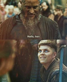 Ragnar and ivar... Vikings