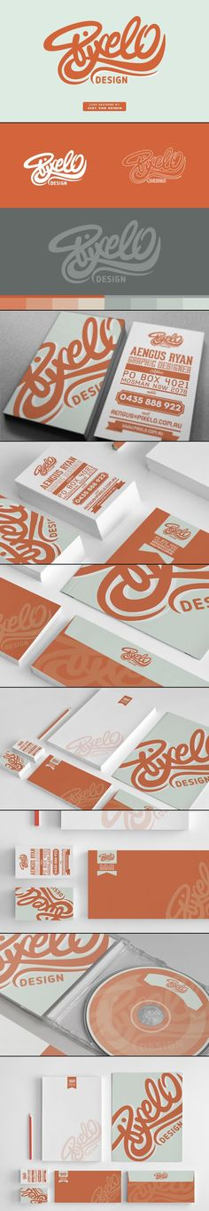 Pixelo Corporate identity // Branding