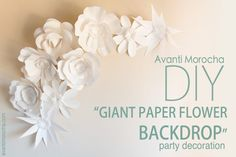 DIY Giant Paper Rose – AvantiMorocha Blog