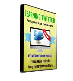 This video series will focus on learning Twitter for those with some experience in marketing and are comfortable with social media in other incantations.