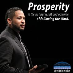 """You cannot allow other people to deter you from accomplishing your goal."""" Apostle Frederick K.C. Price """"Prosperity: Good News For God's People"""" Pg. 41 #SowingAndReaping #Finances #CCC #EIFMinistries #DailyDevotions https://store.crenshawchristiancenter.net/p-3356-prosperity-good-news-for-gods-people.aspx"""