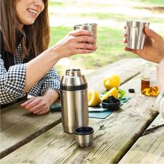STANLEY | Adventure Happy Hour System 2 x person  - Brushed S/Steel Stanley Adventure, Brushed Stainless Steel, Happy Hour, The Help, Gifts, Presents, Favors, Gift