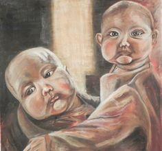 Jaime Cowdry. Oil on canvas 40''x40''. November 2011.