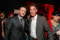 Chris Hardwick and Bill Nye nerdist