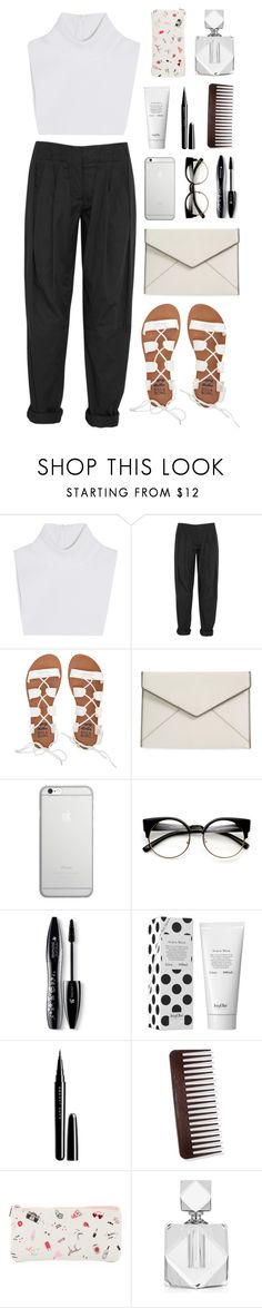 """""""im tired of this"""" by bestraan ❤ liked on Polyvore featuring Michael Kors, Alexander Wang, Billabong, Rebecca Minkoff, Native Union, Lancôme, Marc Jacobs and ban.do"""