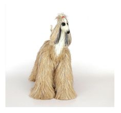 Collectibles Animals, caramel afghan hound, cute plush toy, stuffed animals,