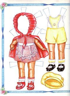 Effanbee's Patsyette Paper Doll - Lorie Harding - Álbuns da web do Picasa* For lots of free paper dolls International Paper Doll Society #ArielleGabriel #ArtrA thanks to Pinterest paper doll collectors for sharing *