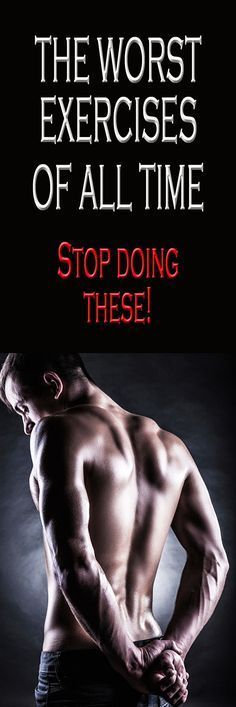 The WORST exercises of all time.  #worstexercises #fitnessmistakes