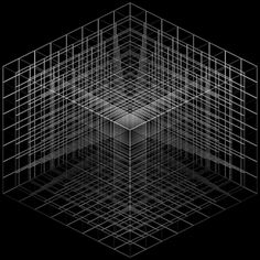 Creative Line, Cubes, Lines, Design, and Graphic image ideas & inspiration on Designspiration Geometry Pattern, Geometry Art, Sacred Geometry, Textures Patterns, Print Patterns, Isometric Cube, Generative Art, Monochrom, Illustrations