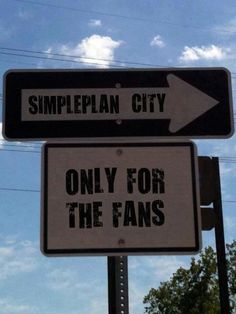 Simple Plan city  Need more directions please...