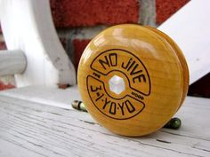The Tom Kuhn No-Jive 3-1 yo-yo. Pure hard rock maple goodness. Simply the best yo-yo ever made. If you can find one of the old San Francisco made models on Ebay, you've got yourself a true legend.