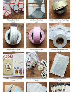 Besottment.com pop-up journaling shop - my fave product is the most amazing double sided tape that I use in all my projects/