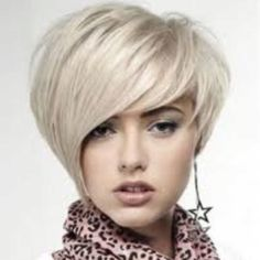 Cute bi-level bob haircut