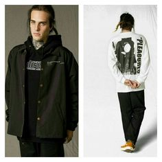 "Hot trends in #streetwear PUNK,,WORKSHIRTS, 90S  @Pleasures ""Version 3.0"" Lookbook  #Pleasures #menswear #streetweartrends #streetwearculture #hiphopclothing #streetluxe #dandy #bespoke #mensfashiontrends #dandystyle #dapper #mensfashionnetwork #mensfashiontrends #gq #complex #hypebeast #urban #cyclists #mensstyle #hiphopclothing #mensouterweartrends #mensjackets #mensfashionpost #mensfashionblog"