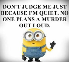 """These Minion Quotes are so funny and hilarious and able to make you laugh.If you read out these """"Best Minion Quote Of The Day"""" suddenly you will start laughing . Best Minion Quote Of The Day Best Minion Quote Of The Day Best Minion Quote Of The Day Best… Funny Minion Memes, Minions Quotes, Minion Humor, Minion Sayings, Funny Humor, Funny Stuff, Minion Pictures, Funny Pictures, Minions Funny Images"""