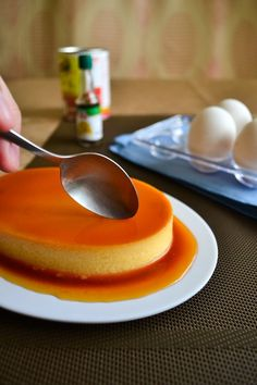 World's Best Baked Flan Image