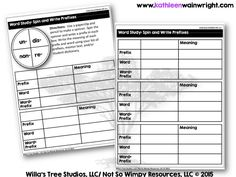 This blog post talks about how you can use choice boards in your classroom during reading workshop. Differentiation Strategies, Differentiated Instruction, Word Study, Word Work, Teacher Resources, Teaching Ideas, Choice Boards, Wimpy, Prefixes