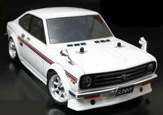 ABC Hobby (#66043) - 1/10 Mini Nissan Sunny Coupe Clear Body(w/Light Buckets) RC Tamiya,Kyosho,Futaba,Axial,Bandai,3Racing,GPM,SAVOX,Fujimi,Aoshima,YOKOMO,Takara Tomy,Align,Walkera,TRAXXAS,HPI,Hirobo,Esky,scaled model,spare upgrade parts
